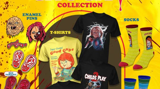 Fright Rags Launches Wickedly Retro Child's Play Collection!