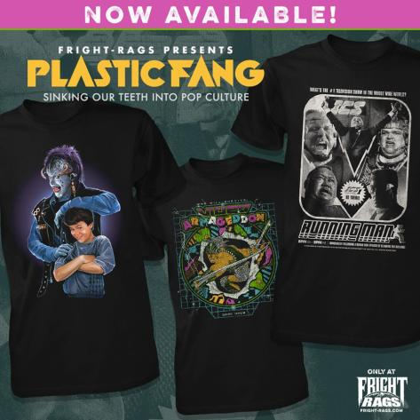 Fright Rags Offering Nostalgic Fuzzies With New Plastic Fang Collection!