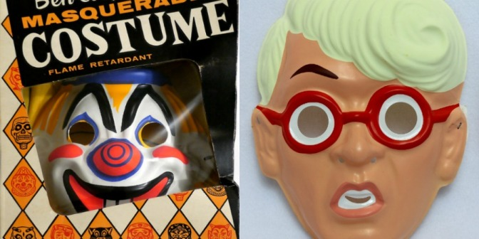 Vintage Halloween Horrors: The Creepiest Ben Cooper Masks Ever Put on the Market