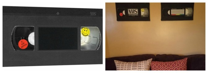 Horror Decor Reveals New Interchangeable VHS Wall Art and OMG