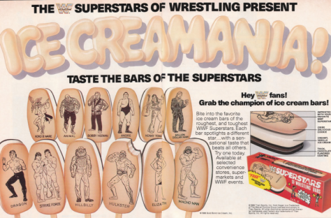 The Ice-Cream Man Offered Nothing More Sweet Than WWF Ice Cream Bars