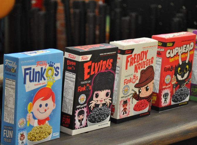 Funko Launching REAL Horror Cereal  This June Featuring Freddy, Elvira, and He-Man!