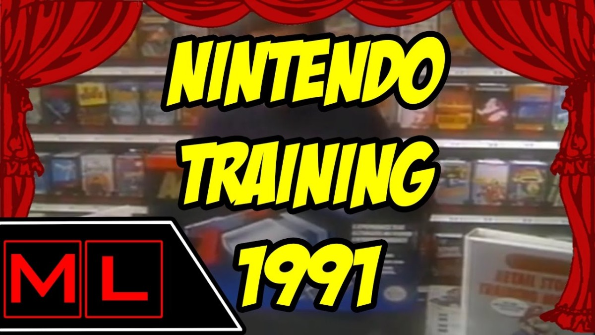 Check Out This Hilarious Nintendo Training Video From 1991!