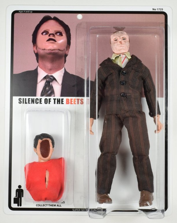Silence of the Beets: Dummy Skin-Wearing Dwight Schrute is Now an Action Figure!