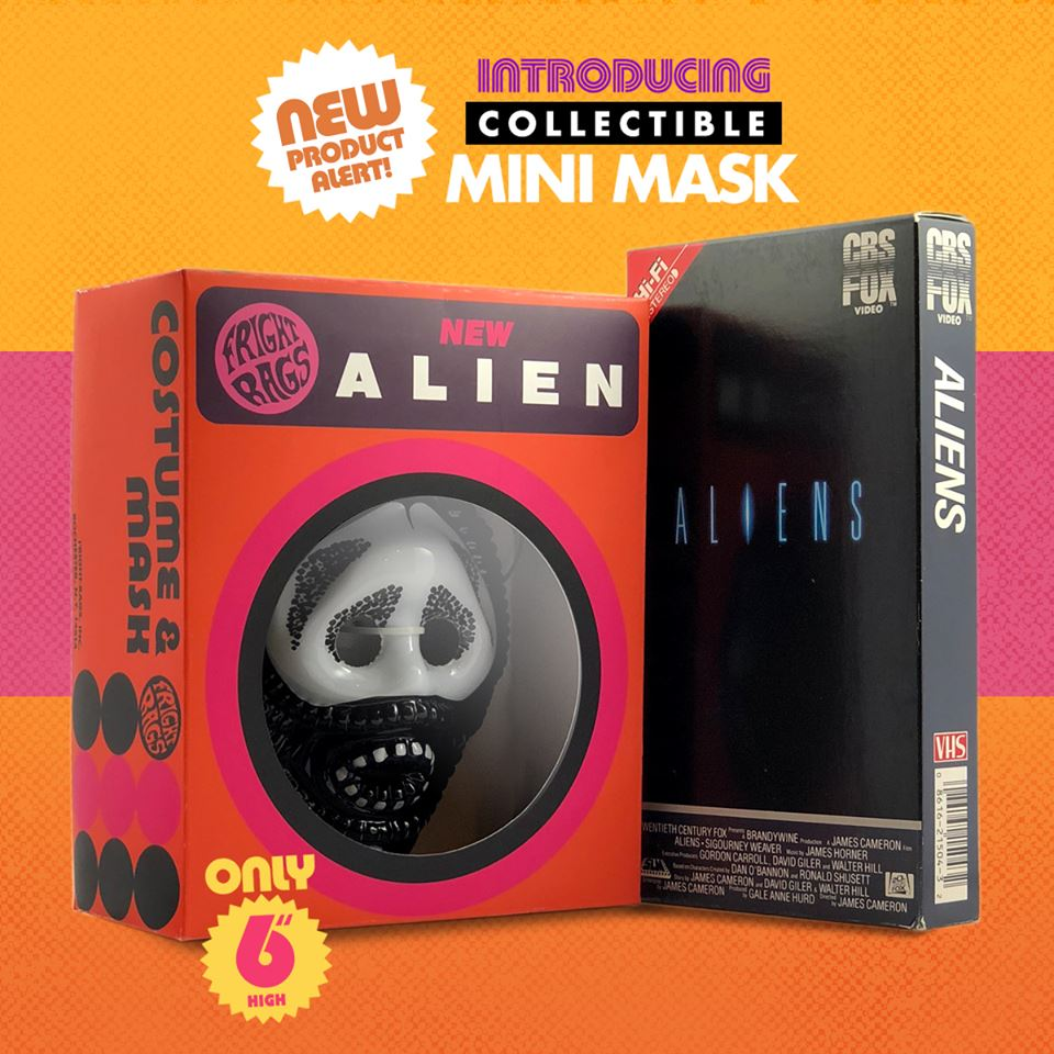 FRIGHT-RAGS Celebrates Ben Cooper Fandom With New Mini-Mask Launching This Alien Day!