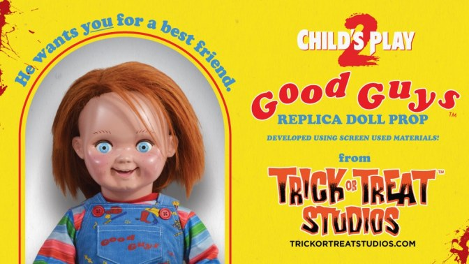 Trick Or Treat Studios Is Making An Officially Licensed Child's Play 2 Good Guy Doll! Here's How To Grab One!