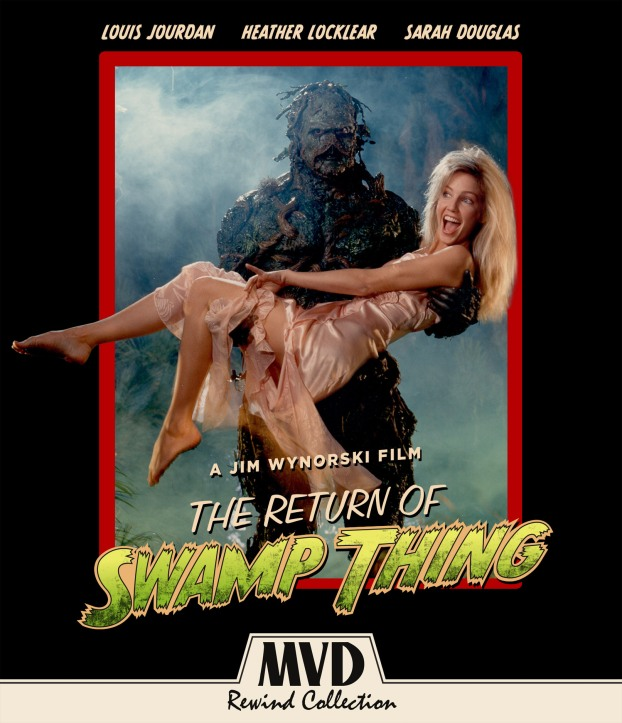 """Return of Swamp Thing"" Blu-Ray and More Coming to the MVD Rewind Collection"