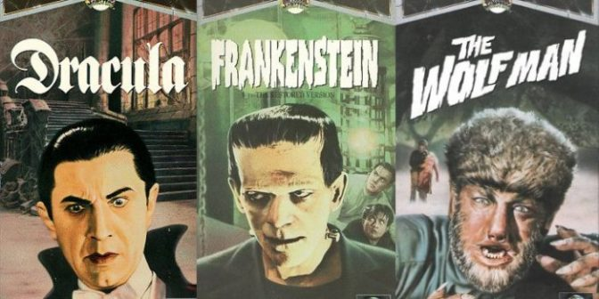 VHS Memories: The Classic Universal Monsters Collection to Die For!