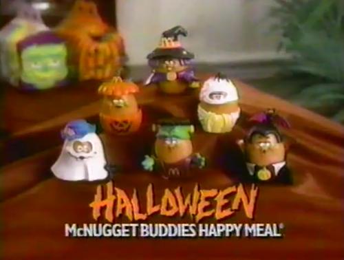 mcnugget buddies halloween