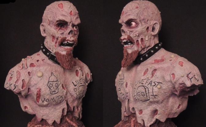 AGGRONAUTIX Presents The GG Allin 25th Deathiversary Bust!
