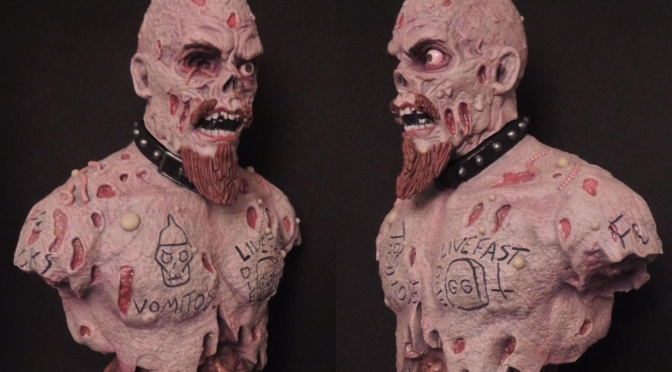 AGGRONAUTIX Presents: The GG Allin 25th Deathiversary Bust!