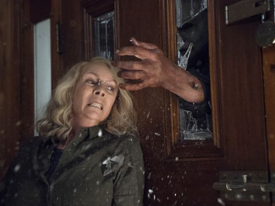 "Michael Has Come Home! First Official Photos From ""Halloween""!"