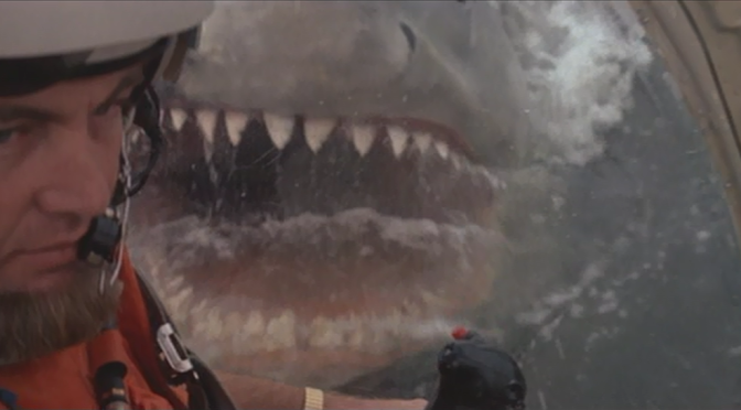 """Let's Look At the Rare, Extended Helicopter Attack Scene In """"Jaws 2""""!"""