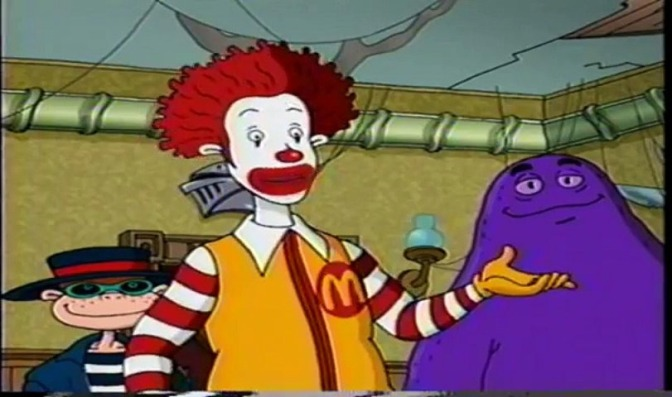 Remembering That Freaky-Ass Episode of 'The Wacky Adventures of Ronald McDonald'