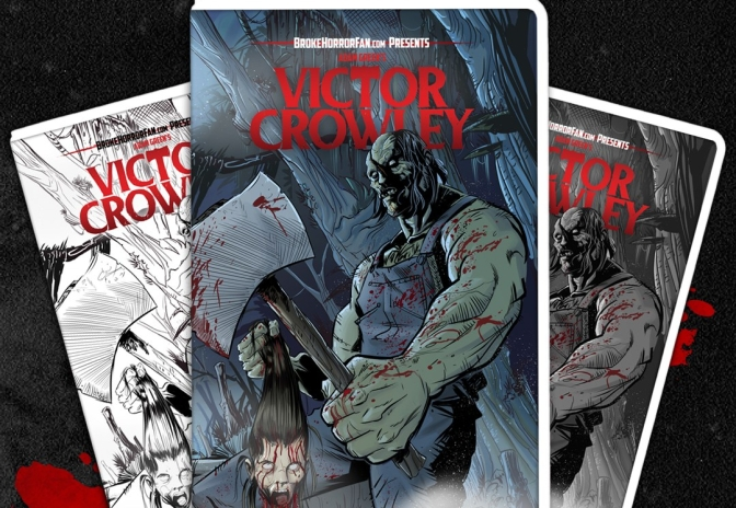 """Victor Crowley"" Has a Limited VHS Release That You Can Buy Right Now!"