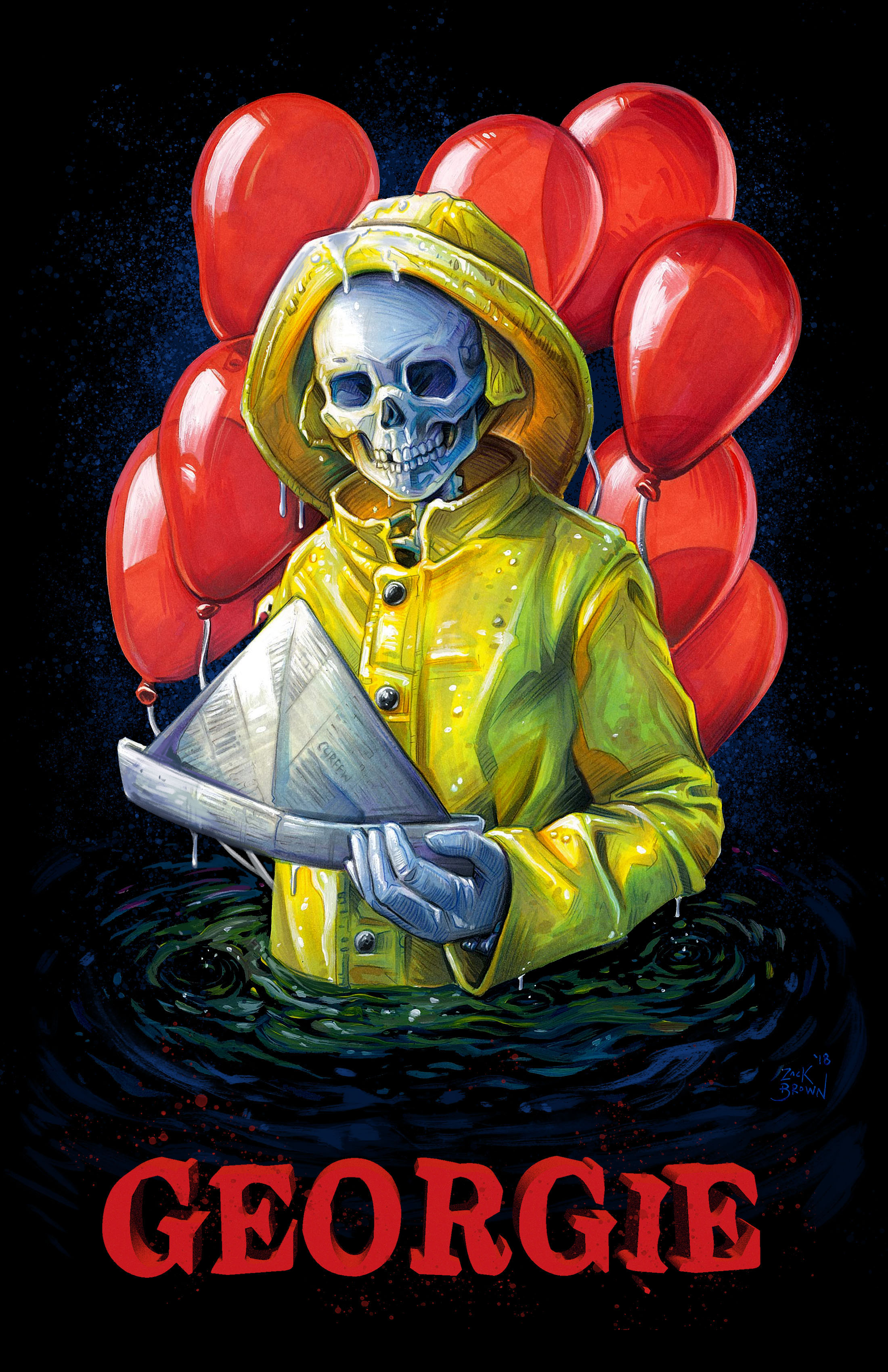 """Original Georgie From """"IT"""" Returns For Unofficial Sequel To 1990 Miniseries!"""