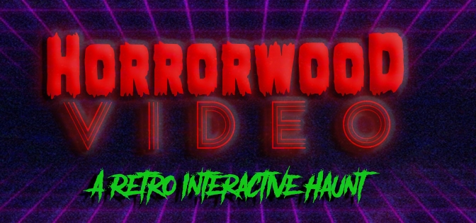 "Vegas' New Immersive Haunt ""HorrorWood Video"" Aims To Appease Retro Horror VHS Lovers"
