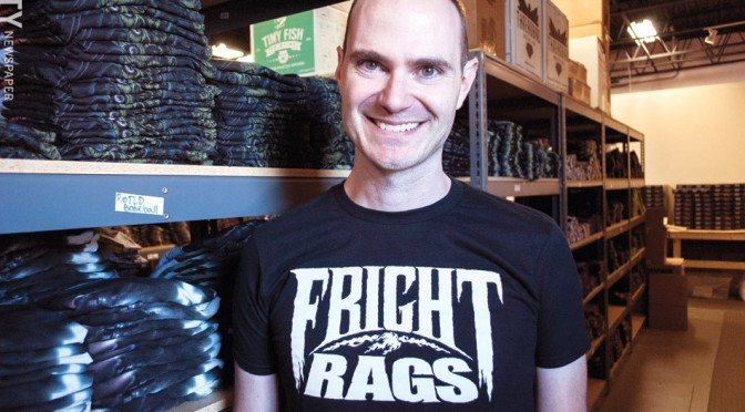 Livin' the Dream: An Interview with Fright-Rags' Ben Scrivens