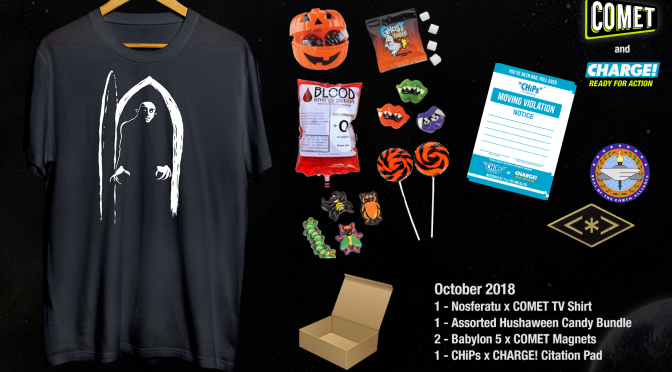 CONTEST ALERT!Win This October Prize Pack from CHARGE and COMET TV!