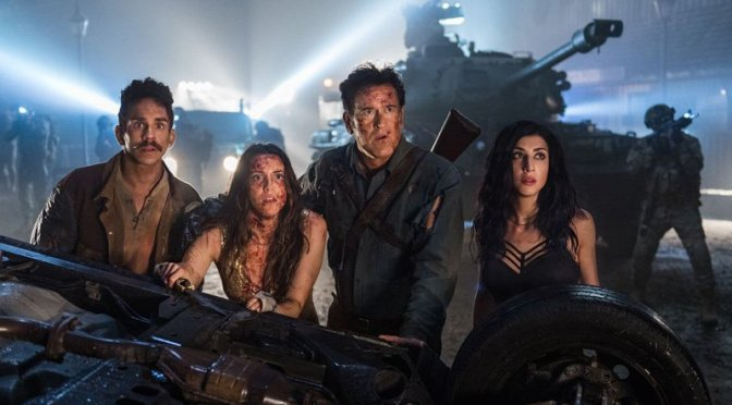 A Year after 'Ash vs Evil Dead,' That Scene Still Resonates
