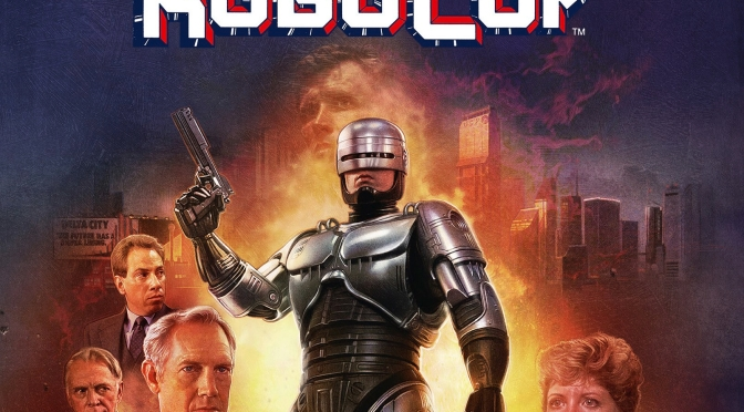 Arrow Video Releasing 4k Restoration Steelbook of ROBOCOP