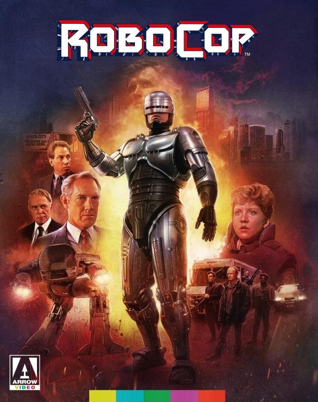 Nightmare Nostalgia Arrow Video Robocop Blu-Ray