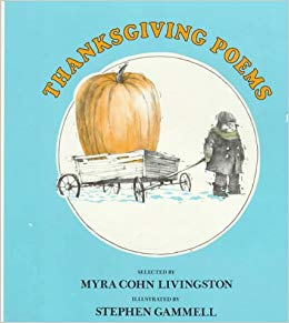 Let's Be Thankful Stephen Gammell Illustrated a Thanksgiving Poems Book