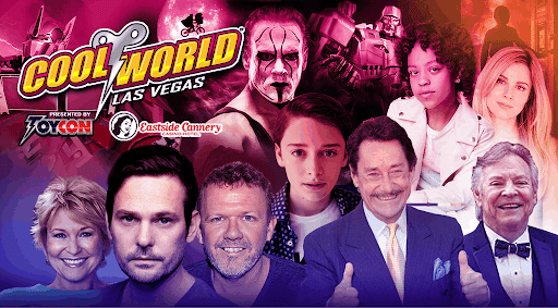 Nostalgic Toys, Wrestling Legends, and Iconic 80s' Faces Invade Las Vegas Toy Con!