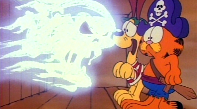"""[WATCH] """"GARFIELD'S HALLOWEEN ADVENTURE"""" AS ORIGINALLY AIRED COMPLETE WITH COMMERCIALS!"""