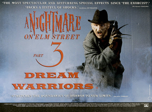 From A Nightmare on Elm Street 3: Dream Warrior (1987) -Your wish is my  command! - #1987 #3 #8… | Dream warriors, A nightmare on elm street,  Nightmare on elm street