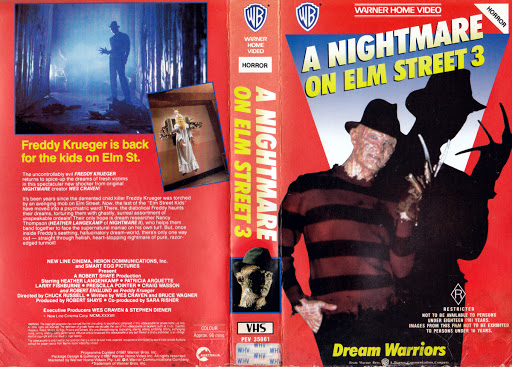 Welcome To Prime Time With The VHS Retailer's Promo For A Nightmare On Elm Street 3: The Dream Warriors