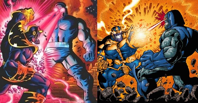 Thanos vs Darkseid: When Marvel And DC Crossed Over In Comic History