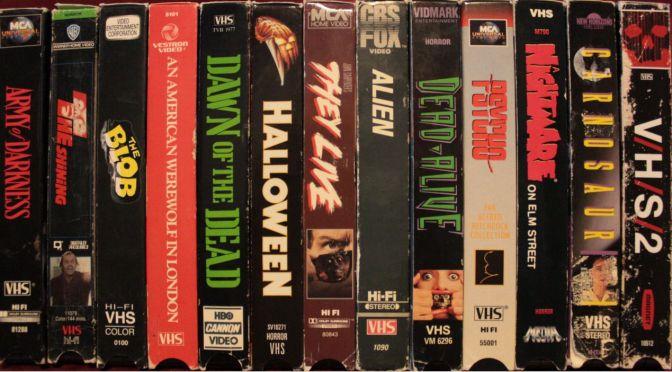 THE ART OF HORROR: CELEBRATING THE BEST HORROR VHS COVER ART!