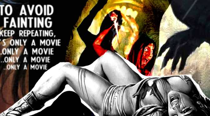 The Scandalous VHS Artwork of Exploitation Horror