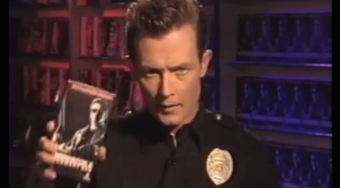 """WATCH ROBERT PATRICK PIMP HIMSELF OUT FOR """"TERMINATOR 2"""" IN THIS VHS RETAILERS' PROMO"""