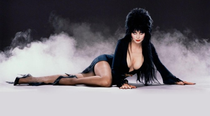 """Shudder Celebrates 40 Years of Elvira With  """"Anniversary Very Scary, Very Special Special."""
