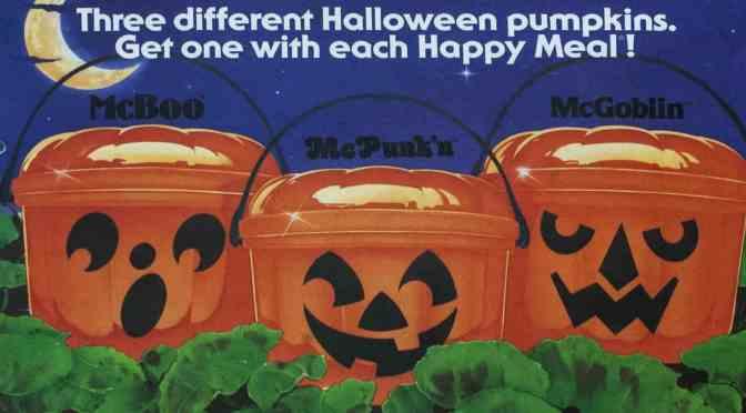Celebrating 35 Years Of McDonald's Halloween Buckets