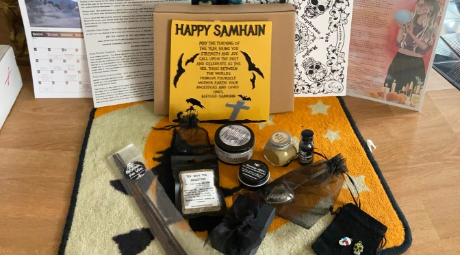{Samhain Review} Sacred Space Crate: The Gold Standard For Witchy Subscription Boxes