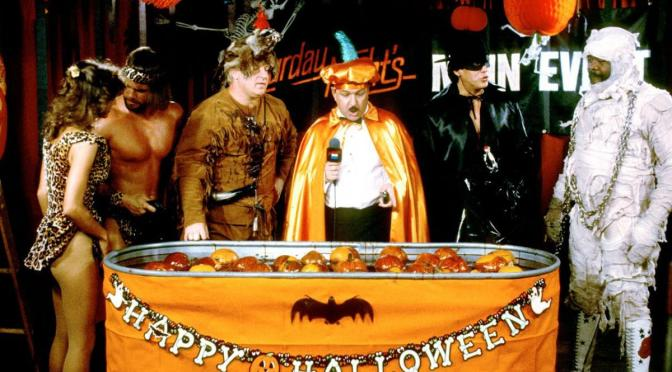 The Insane 1985 WWF Halloween Party And Land Of 1000 Dances!